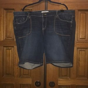 Torrid brand jean shorts